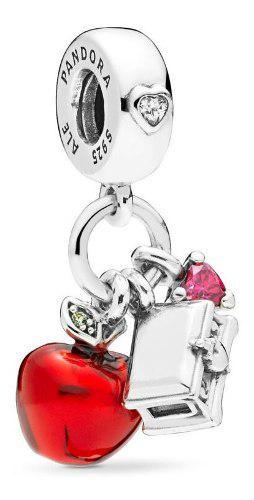 Charm Pandora Manzana Y Corazón Blancanieves Original 100%