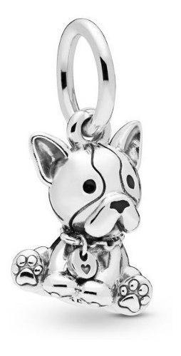 Charm Perro French Bulldog Pandora 100% Plata 925