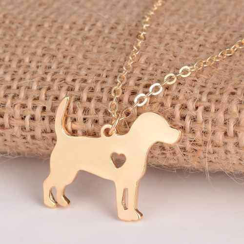 Dije Con Cadena Mascotas Corazon Amor Por Mi Perro