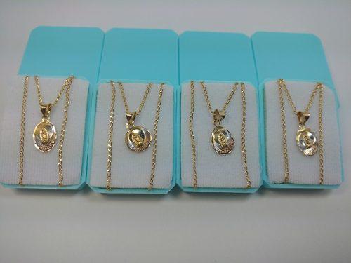 Medallas De La Virgen De Guadalupe De 1 Cm Para Bautizo