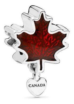 Pandora Charm Amo Canadá