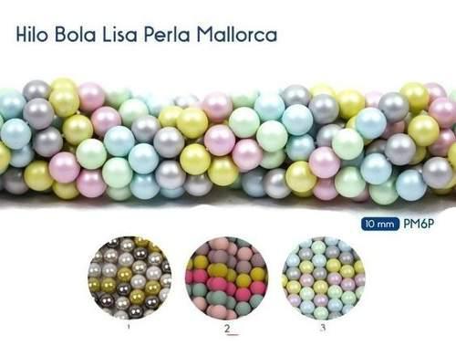 Perla Cristal Mallorca 10mm Collar Pulsera Bisuteria 1 Tira