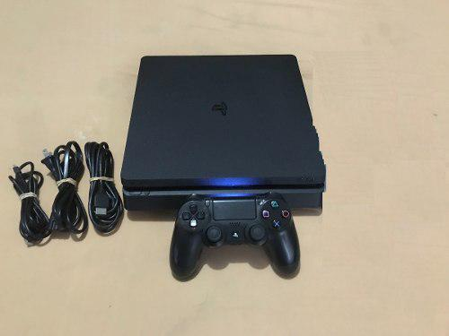 Play Station: Consola Ps4 Slim 1 Tb + 2 Juegos Sorpresa