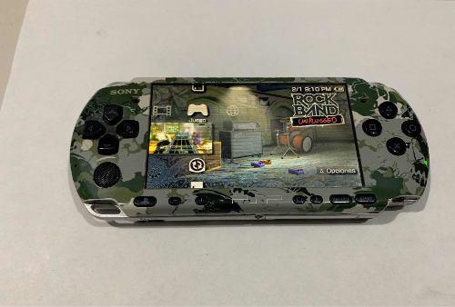 Psp Slim Edicion Metal Gear Solid Memoria De 32gb