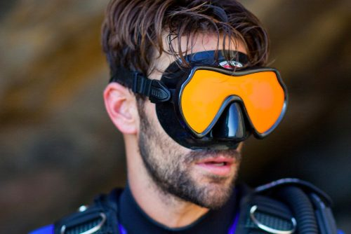 Seadive Hd Visor Profesional Espejeado Snorkel Apnea Buceo