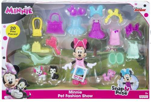 Fisher Price Disney Minnie Desfile Modas 20 Piezas Oferta