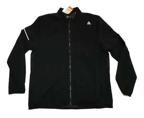 Jacket Reebok Speedwick Running Color Negro Original Nueva