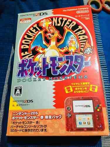 Pokemon Rojo Edición Especial Nintendo 2ds