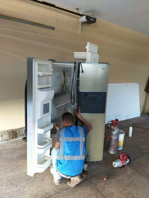 Reparación de Refrigeradores Duplex, Inverter. Carga de gas
