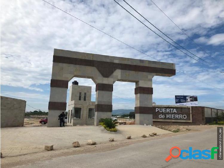 Terreno Venta Tuxtla Residencial Puerta Hierro