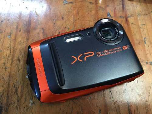 Cámara Digital Fujifilm Finepix Xp90 Negra A Prueba De Agua