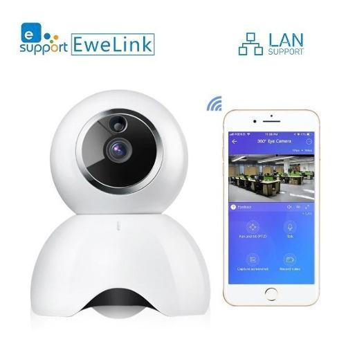Cámara Ewelink Smart Iot Hd Con Audio De Dos Vías