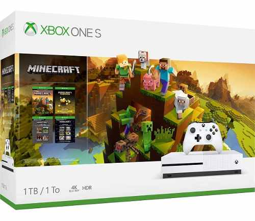 Consola Xbox One S 1tb 1 Control Bundle Minecraft