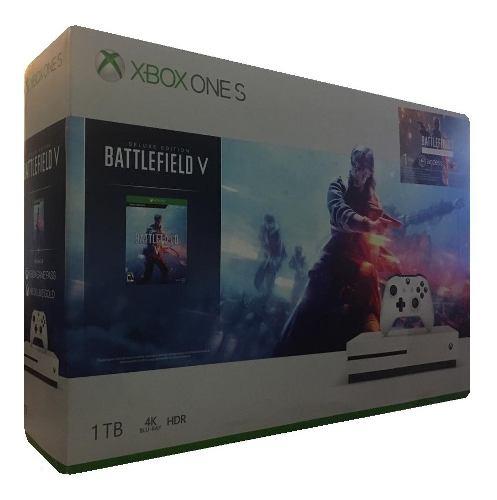 Consola Xbox One S Blanco / Memoria De 1 Tb + Videojuego