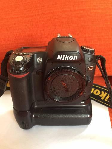 Cuerpo D80 Cámara Digital Réflex Nikon