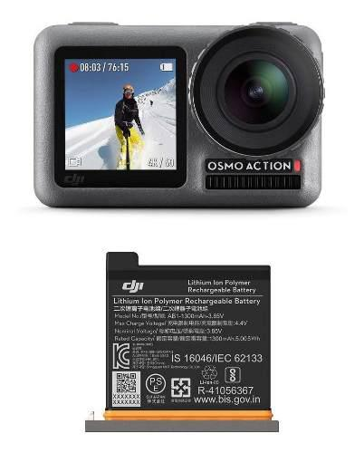 Dji Osmo Action Cam Cámara Digital Con 2 Pantallas 36ft/11m
