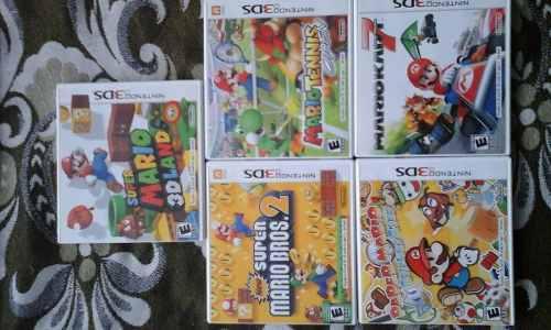 Mario Paper Tennis Juego Consola Nintendo 3ds