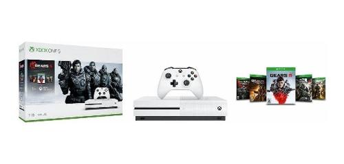Microsoft - Consola Xbox One S De 1 Tb Edición: Gears 5