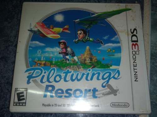 Nintendo 3ds Video Juego Pilot Wings Nuevo Sellado Con
