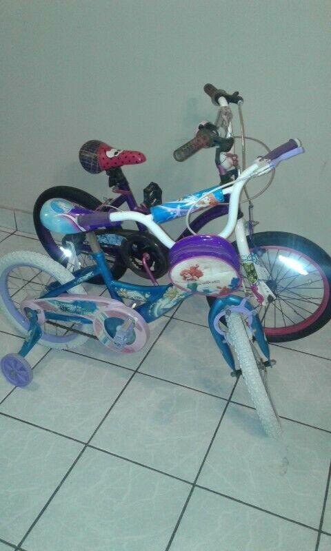 Oportunidad de comprar bicicletas Monster High y Princess, a