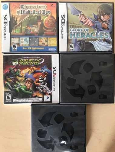 Paquete Lote De Juegos Para Nintendo Ds Y 3ds