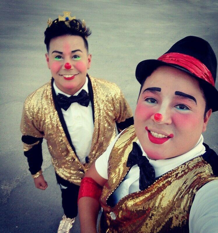 Show de payasos para posadas en Monterrey