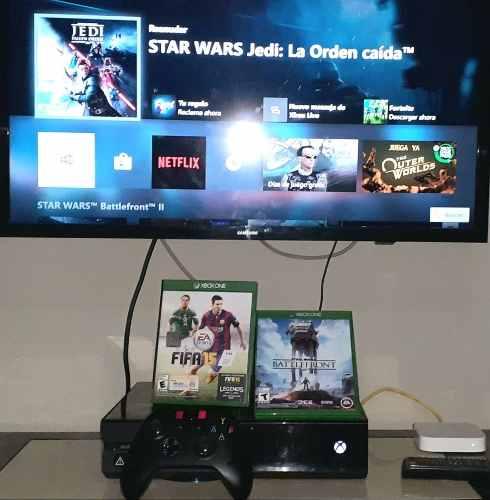Xbox One, Con Fifa Y Battlefront Star Wars