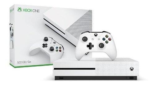 Xbox One S 4k Nuevo 500 Gb 1 Juego Y 3 Meses De Gold Contr