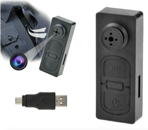 Botón Mini Cámara Espía Hd p Videocámara Dvr Xtrem P