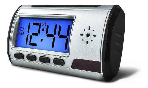 Camara Espia Oculta En Reloj Despertador Con Memoria De 8 Gb