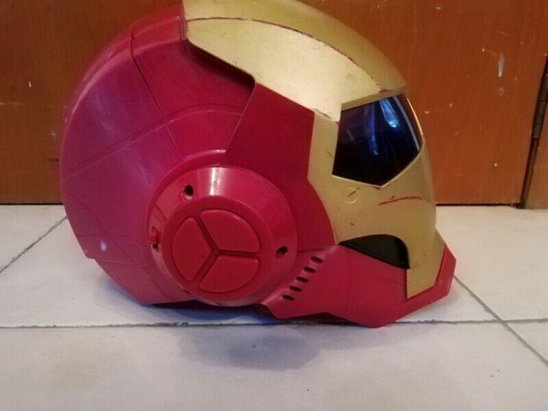 Casco completo de iron man de Avengers para niños y adultos
