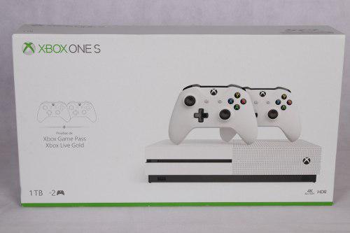 Consola Xbox One S 1tb 2 Controles Inalambricos
