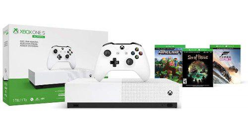Consola Xbox One S 1tb All Digital Con 3 Juegos Digitales