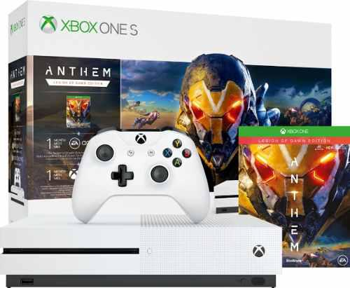Consola Xbox One S 1tb Anthem+1meslive+1mesea Bundle Edition