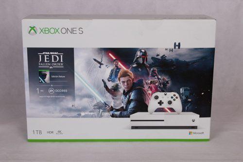 Consola Xbox One S 1tb Edición Star Wars Jedi: Fallen Order