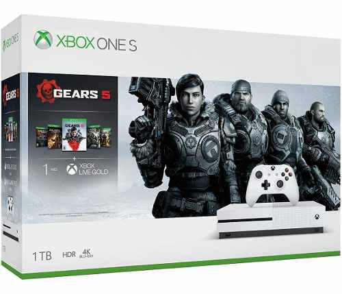 Consola Xbox One S 1tb Gears 5 Bundle Edition