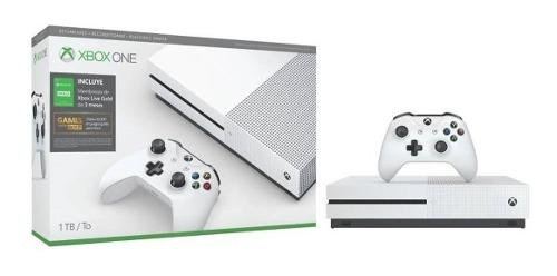 Consola Xbox One S 1tb Reacondicionada + 3 Meses Xbox Live