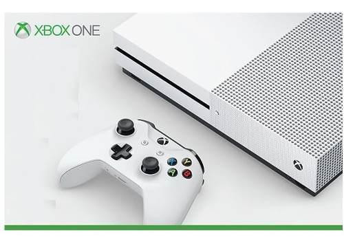 Consola Xbox One S 500 Gb + 2 Juegos Físicos