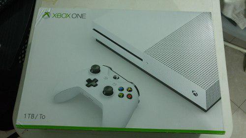Consola Xbox One S, De 1 Tera Blanca, Buen Fin