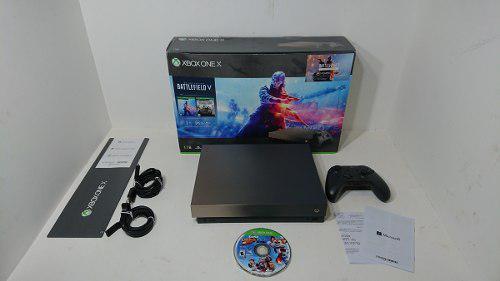 Consola Xbox One X Edición Battlefield V 1 Tb 2018 Cuidada