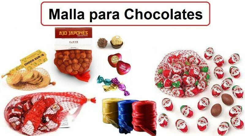 MALLA RED PARA EMPAQUE DE CHOCOLATES
