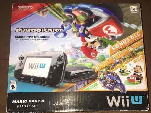 Nintendo Wii U Con Mario Kart 8 Incluido 32 Gb. Excelente!