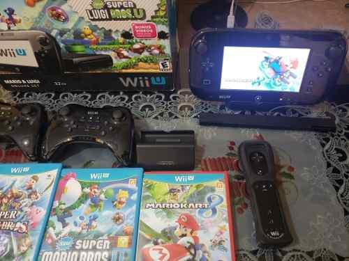 Nintendo Wii U Mario &luigi Deluxe Set 32gb