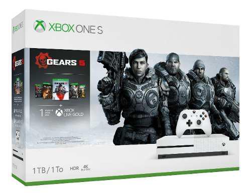 Vendo O Cambio Xbox One S 1tb Gears 1al 5 Nuevo Sellado