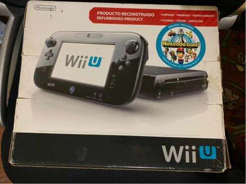 Wii U, Con Tres Juegos Incluidos.