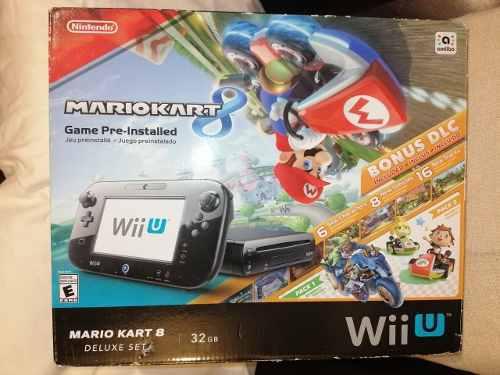 Wii U Mario Kart Deluxe Set