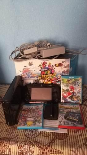 Wii U Super Mario 3d World Juegos 3(fisico) 1 (virtual)