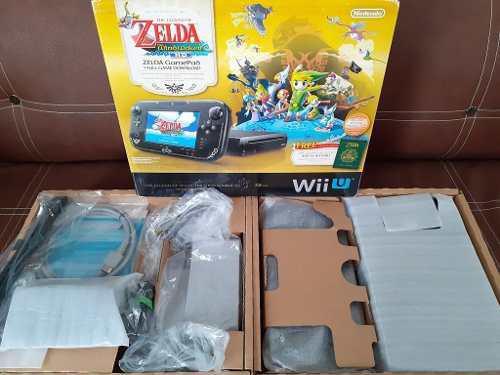 Wii U The Legend Of Zelda The Wind Waker Hd Deluxe Set