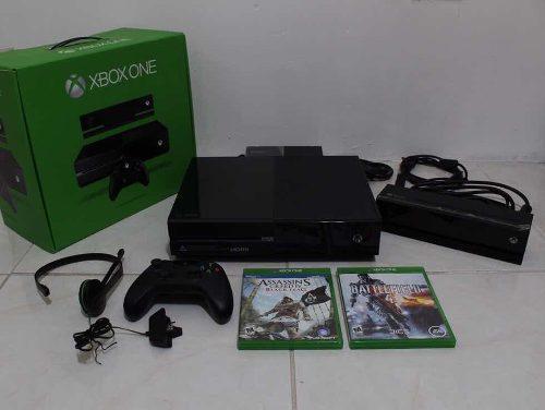 Xbox One 500 Gb Con Kinect Y Dos Juegos