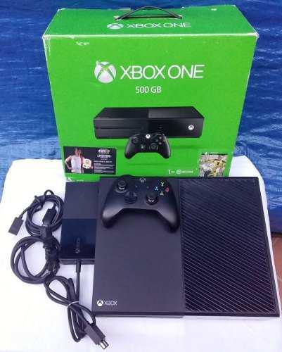 Xbox One 500gb Control Y Juego En Caja Envio Gratis